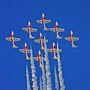 Canadian Air Force - Snowbirds Poster