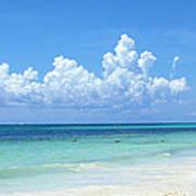 Cancun Beach Poster