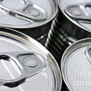 Canned Food Poster