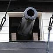 Cannons Uss Constellation  Poster