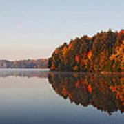 Canoe Lake  Algonquin Poster