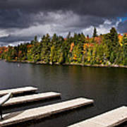 Canoe Lake Poster