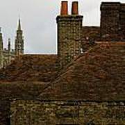 Canterbury Rooftops Poster