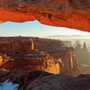 Canyonlands Sunrise Poster
