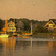 Cape Cod Evening Poster by Michael Petrizzo