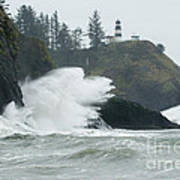Cape Disappointment Lighthouse Poster