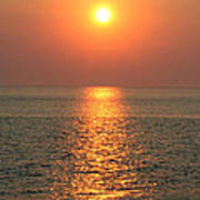 Cape May Sunset Poster