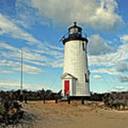 Cape Pogue Lighthouse Marthas Vineyard Poster