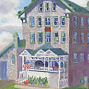 Cape Vincent Ny Fisheries Building Poster