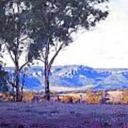 Caperty Valley Australia Poster