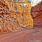 Capitol Gorge Trail At Capitol Reef Poster