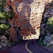 Capitol Reef National Park Road Poster