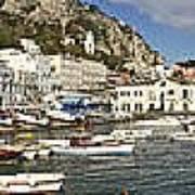Caprii Italy Panorama Poster