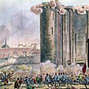 Capture Of The Bastille Poster