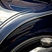 Car Abstract Poster by Odd Jeppesen
