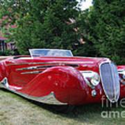 Car At Meadowbrook Poster