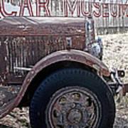 Car Museum Poster