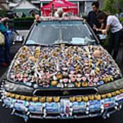 Car Of Teeth Poster