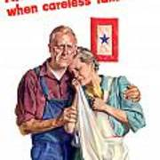 Careless Talk Kills -- Ww2 Propaganda Poster