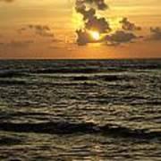 Caribbean Sunrise Poster
