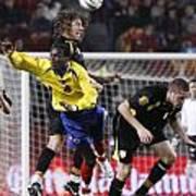 Carles Puyol Jumping Poster