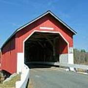 Carlton Covered Bridge Poster