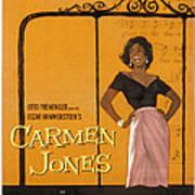 Carmen Jones, Dorothy Dandridge, 1954 Poster