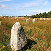 Carnac Standing Stones Poster