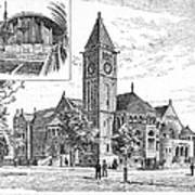 Carnegie Library, 1890 Poster