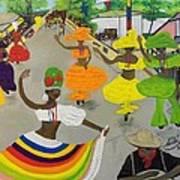 Carnival In Port-au-prince Haiti Poster