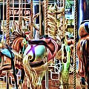 Carousel 7 - Fractals Poster