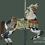 Carousel Paint Horse Poster