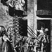 Carriage Cartoon, 1776 Poster