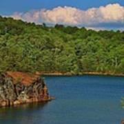Carters Lake In Georgia Poster