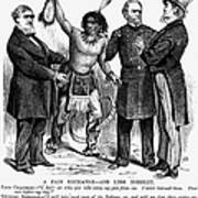 Cartoon: Native Americans, 1876 Poster by Granger