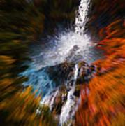 Cascade Waterfall Poster