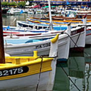 Cassis Boats Poster by Brian Jannsen