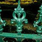 Cast Iron Fence Top 2  Poster