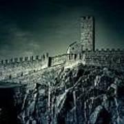 Castelgrande Bellinzona Poster by Joana Kruse