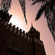 Castell Dels Tres Dragons - Barcelona Poster