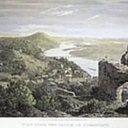 Castle Donaustauf, 1823 Poster