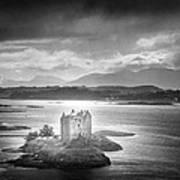 Castle Stalker Poster by Simon Marsden
