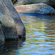 Castor River Reflections Poster