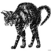 Cat-artwork-prints-2 Poster