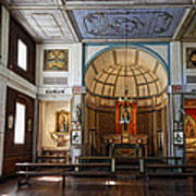 Cataldo Mission Altar And Interior Poster