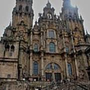 Cathedral At Santiago De Compostela Poster