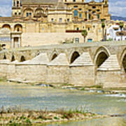 Cathedral Mosque In Cordoba Poster