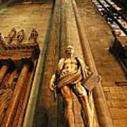 Cathedral Statue Milan Italy Poster