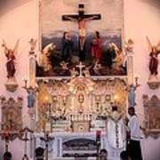Catholic Mass Poster by Myrna Migala
