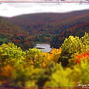 Catskill Fall Poster